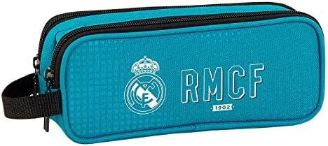 Real Madrid – Estuche escolar doble Deluxe for ever RMCF: Amazon.es: Oficina y papelería