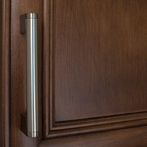 GlideRite Hardware 52003-128-SN-50 Stainless Steel Round Cross Bar Cabinet Pulls, 50 Pack, 5'', Brushed Stainless Steel by GlideRite Hardware (Image #4)