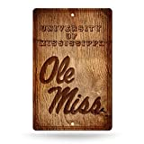 NCAA Mississippi Old Miss Rebels Fantique Wall Sign
