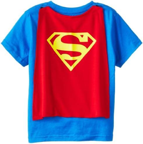 Toddler Superman Shirt Superman Cape Tee Toddler Cape Shirt Superman Shirt 10 2t Amazon Sg Fashion