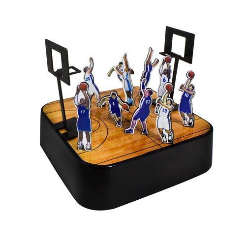 (Decorative Colorful Desk Office Basketball Players Magnetic Sculpture Paper Clip Holder Building Block)