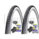 Michelin-PROMOZIONE-2-x-Copertone-28-x-1-58-1-38-700-x-35-2-x-Camera-dAria-28-x-1-58-1-38-700-x-35-Ideale-Bicicletta-City-Bike-DonnaUomo-con-Cambio-o-Senza-Cambio