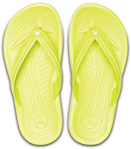 Synthetic Crocband white Crocs Flip Unisex Ball Tennis Green Flops aPffEn