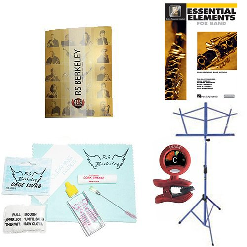 RS Berkeley ob402 Artist Series Oboe with case & Bonus RSB MEGA PACK w/Essential Elements Book by RS Berkeley (Image #2)