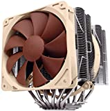 Noctua NH-D14, Premium CPU Cooler with Dual NF-P14 PWM and NF-P12 PWM Fans (Brown)
