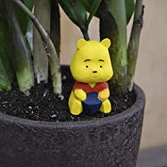 Winnie-the-Pooh , it is a lovely character of Disney Movies . Winnie-the-Pooh is very cute and ,loved by adults and children. This is a perfect accessories for mini garden, dollhouse, terrarium and plant pots in disney style. Buy and decorate...