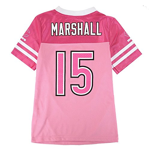 Outerstuff Brandon Marshall NFL Chicago Bears Mid Tier Fashion Jersey Girls Youth (7-16) ()