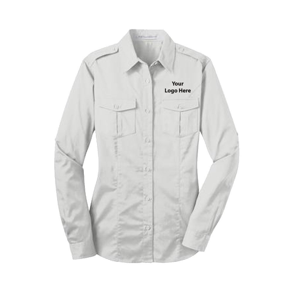 Sleeve Twill Shirt - 24 Quantity - $36.65 Each - BRANDED with YOUR LOGO/CUSTOMIZED