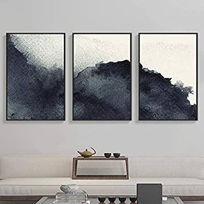 ,  Abstract Zen  Prints  Home Decoration - Framed Canvas Wall Art for