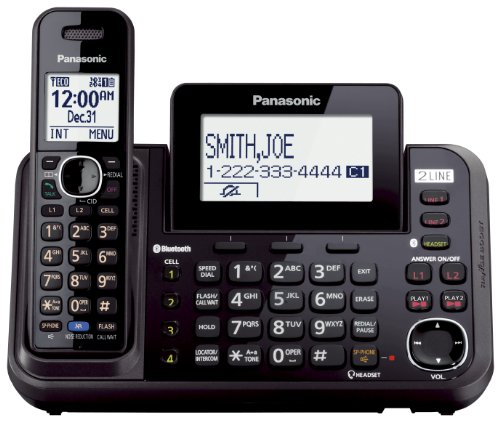 2 Line Cordless, Link to Cell, USB by Panasonic