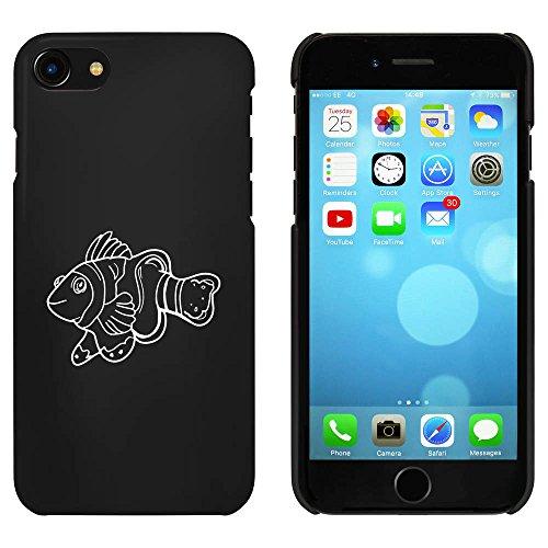 Noir 'Poisson Clown' étui / housse pour iPhone 7 (MC00064115)