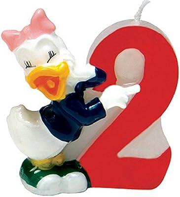 Disney - Vela para Tartas Mickey Mouse (Procos 71225) [Importado de Inglaterra]