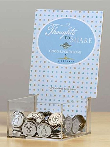 Thoughts to Share Good Luck Tokens, Set of 6, By Giftcraft