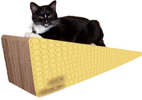 Imperial Cat Giant Wedge Scratch 'n Shape, Honeycomb by Imperial Cat