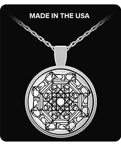 Mandala - Healing Necklace-White