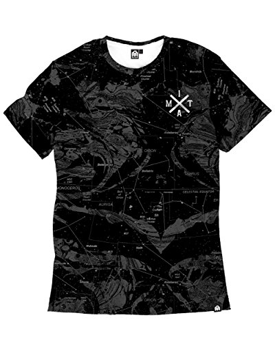 INTO THE AM Star Map Men's Tee - - Outlets California Map