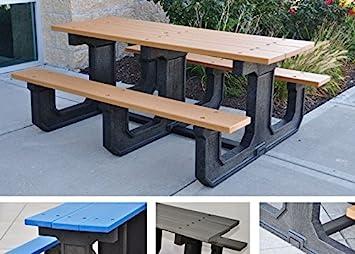 Jayhawk plastiques Park Place Plastique recyclé Table de ...