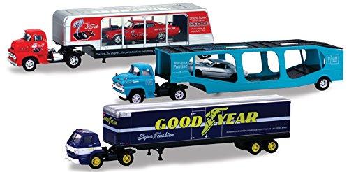 "Auto Haulers Release 19 ""A"", 3 Trucks Set 1/64 by M2 Mach..."