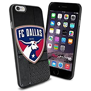 diy zhengSoccer MLS FC Dallas LOGO SOCCER FOOTBALL , Cool iphone 5c Smartphone Case Cover Collector iphone TPU Rubber Case Black