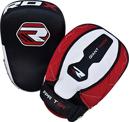 RDX Boxing Punch Focus Hook & Jab Pads Thai Kick Strike Shield MMA Punching Mitts Target Training