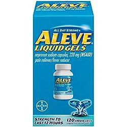 Aleve Liquid Gels, 120 Count