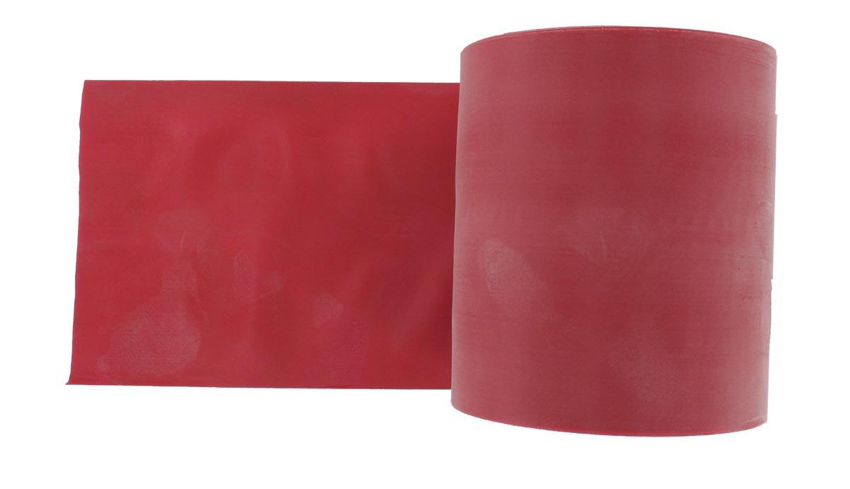 Resistenza Heavy Fascia o Banda Elastica per Riabilitazione Misure 1,5 m x 14 cm x 0,35 mm Colore Blu Senza Lattice Gima