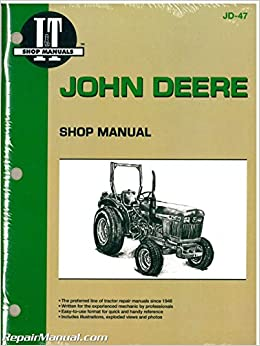 Jd 47 John Deere 850 950 1050 Farm Tractor Workshop Manual