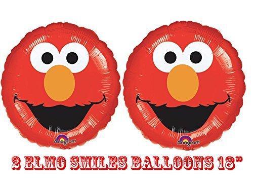 Elmo Smiles Foil Balloons 18