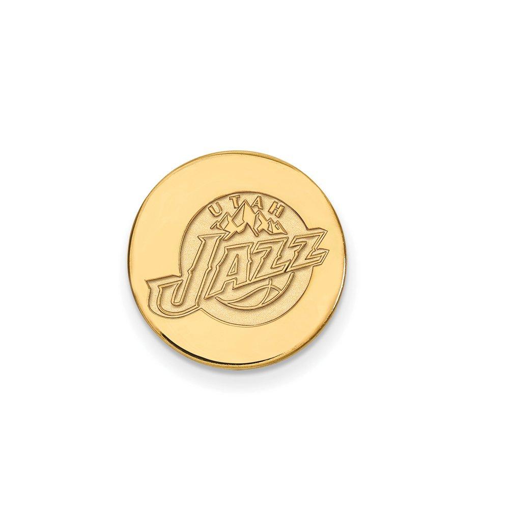 NBA Utah Jazz Lapel Pin in 14K Yellow Gold