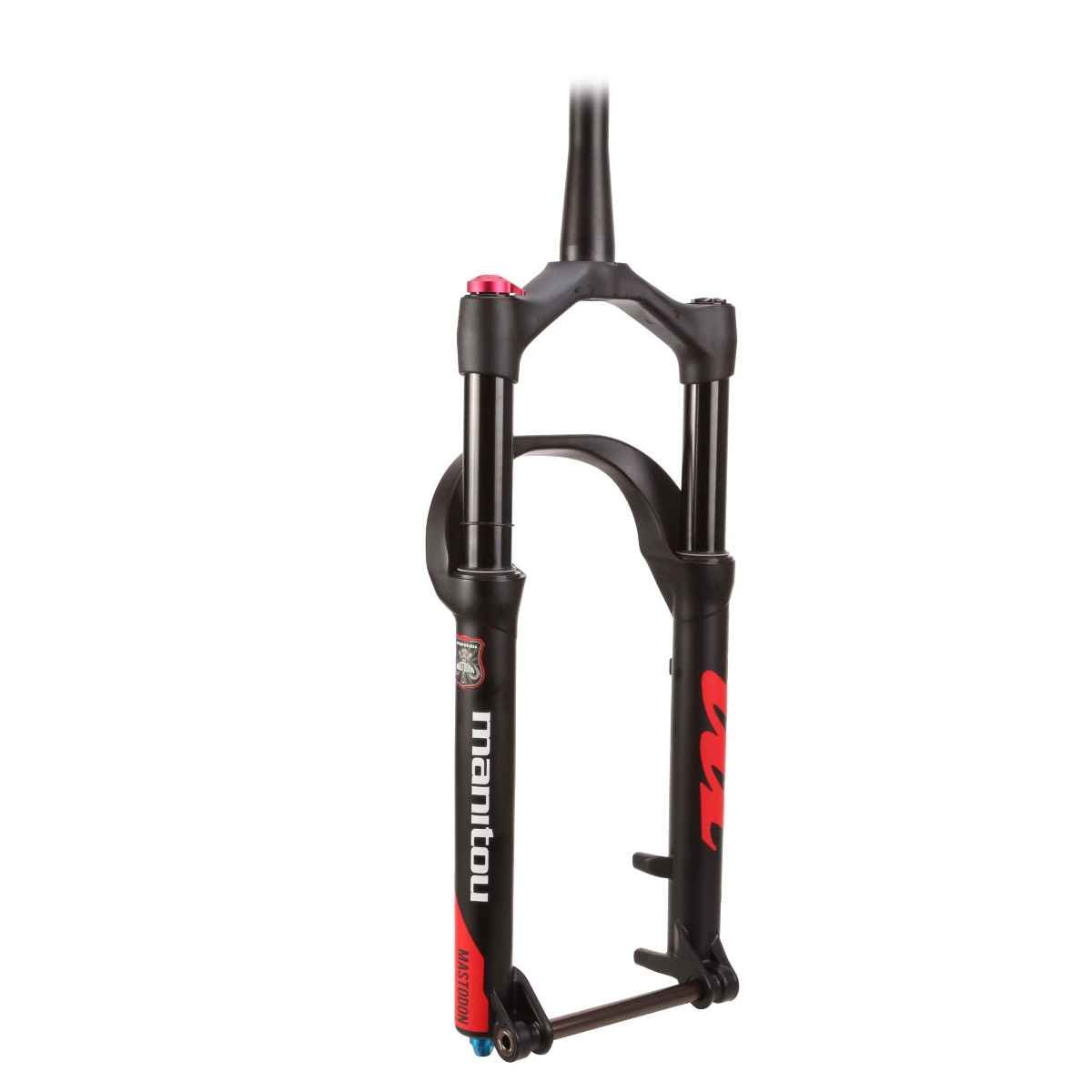 Manitou Mastodon Comp Fat Bike Fork , 120 mm旅行、15 x 150 mm車軸、Tapered、マットブラック、拡張version-fits Up To A 5.15インチタイヤ B071NQSWJC