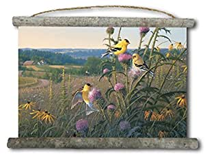 "WGI-GALLERY Canvas Wall Scroll - Golden Meadow - 25"" x 18"""