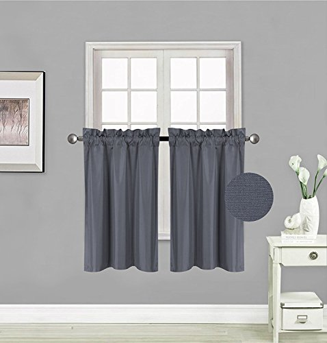 Fancy Collection 2 Panel Blackout Curtains Draperies Thermal