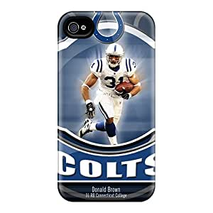 Shock Absorbent Hard Phone Cover For Iphone 6plus With Allow Personal Design Fashion Indianapolis Colts Pictures DannyLCHEUNG