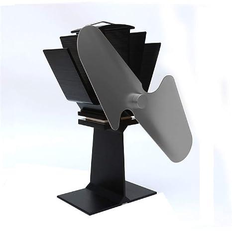 Chimenea molino de viento nuevo diseño de energía térmica estufa de leña silenciosa para madera respetuosa