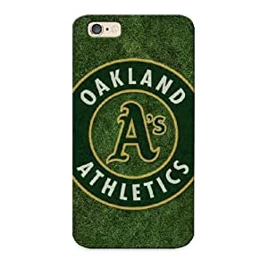 Inthebeauty Premium Oakland Athletics Heavy-duty Protection Design Case For Iphone 6