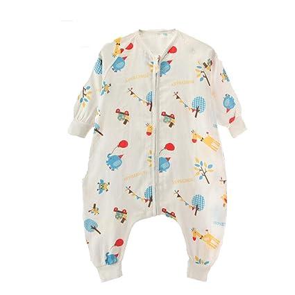 Gleecare Saco de Dormir para bebé,Acolchado de bebé térmico Anti-Kick Tejido Saco