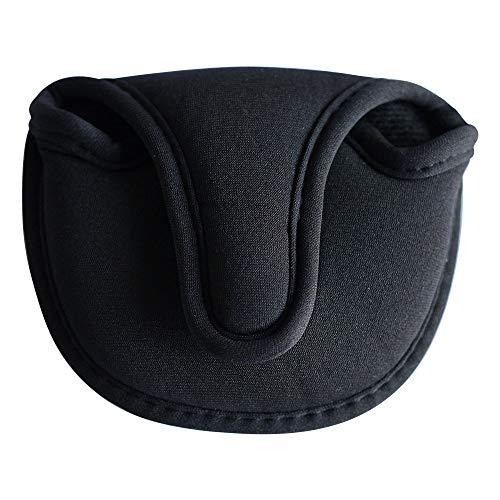 Stripe Golf Black Neoprene Mallet Putter Head Cover ()
