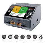 #5: HOBBYMATE D6 Duo Pro Battery Charger w/Wireless Cellphone Charging, Support AC/DC Input