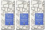 Raaka Chocolate Coconut Milk Dark Chocolate 60% Cacao, (1.8oz Bar - 3 Pack), Organic, Non-GMO, Kosher Premium Craft Artisan Chocolate, Vegan, Gluten and Soy Free, Bittersweet, Bean-to-Bar Chocolate
