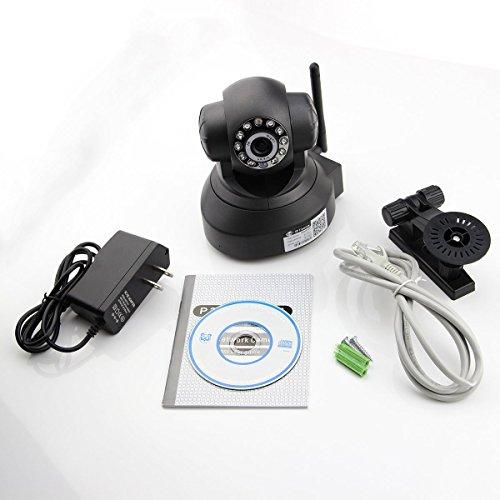 Amazon.com : Plug & Play Pan / Tilt IP / Detección de movimiento / Móvil Ver / Red Red megapíxeles de cámara de Internet Vigilancia bebé monitor de la ...