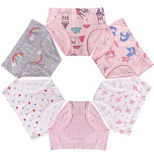 Seekay Girls Underwear Briefs, Organic Cotton, Tagless,5-6 Years by Seekay (Image #4)