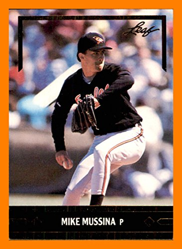 1991 Leaf Gold Rookies #BC12 Mike Mussina BALTIMORE ORIOLES Ace