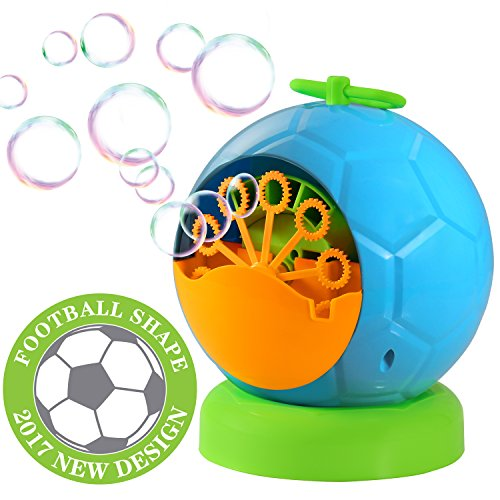 Geekper Automatic Bubble Machine for kids Durable Bubble Blower Over 500...