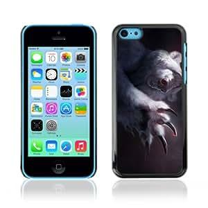 CaseCaptain Carcasa Funda Case - Apple iPhone 5C / Funny Polar Bear Illustration /