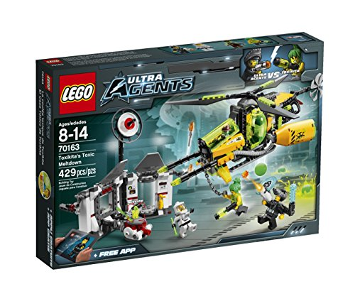 LEGO Ultra Agents 70163 Toxikita's Toxic Meltdown (Ultra Agents Chopper compare prices)