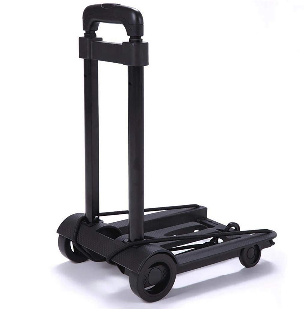 BHXUD Folding Truck 40 Kg Capacity Hand Truck Moving Office Use - Portable Fold up Dolly