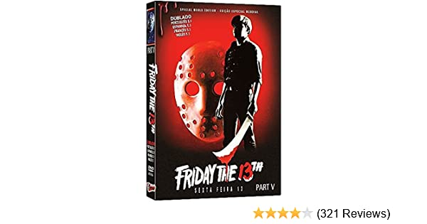 Amazon.com: Friday the 13th Part 5: A New Beginning, Viernes 13 Parte V, Vendredi 13 Chapitre 5: Une Nouvelle Terreur, Venerdì 13: Parte V - Il Terrore ...