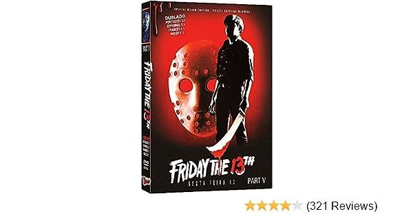 Amazon.com: Friday the 13th Part 5: A New Beginning, Viernes 13 Parte V, Vendredi 13 Chapitre 5: Une Nouvelle Terreur, Venerdì 13: Parte V - Il Terrore ...