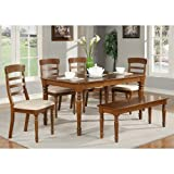Parawood Furniture Vintage Spool Collection Casual Dining Set