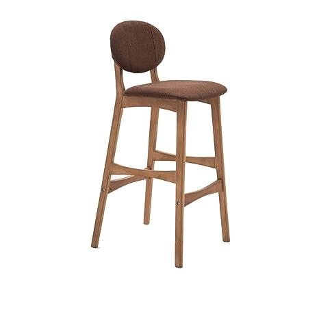 Awe Inspiring Amazon Com Wooden Bar Chair Breakfast Bar Stool Kitchen Dailytribune Chair Design For Home Dailytribuneorg